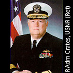 Rear Admiral Robert C. Crates, SC, USNR (Retired)